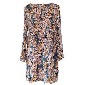 Cynthia Rowley Paisley Print Shift Dress